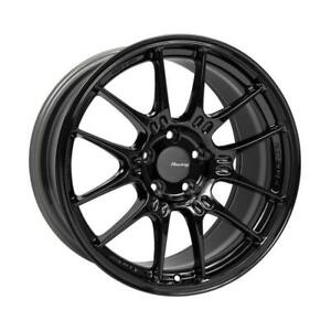 Enkei Gtc02 18x9 5 5x114 3 40mm Offset 75mm Bore Gloss Black Single Wheel