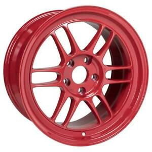 Enkei Rpf1 17x9 5x114 3 35mm Offset Competition Red Single Wheel New