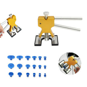 Auto Body Paintless Dent Repair Tools Hail Damage Removal Kit Dent Lifter Puller