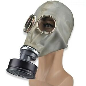 Gas Mask Respirator Classic Style Military Edition Chemical Gases 360 Protection
