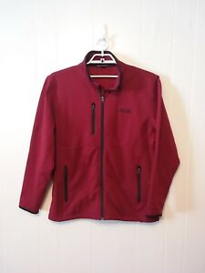 Coca Cola Jacket Port Authority XL Red Embroidered Letters