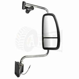 Truck Mirror Complete For 1997 10 International 9200 9400i 9900i 5900