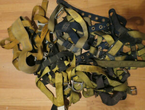 Lot Of 5 Fall Protection Velocity Safety Harness Be Safe