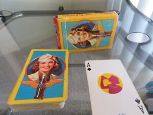 COCA COLA COMPLETE PLAYING DECK OF CARDS 1943