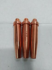 3 Acetylene Cutting Torch Tips 4202 7 Fits Purox New