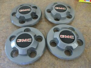Gmc S10 Blazer Truck Center Cap Hubcaps Set Of 4 Oem