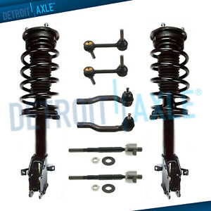 Front Struts Sway Bar Tierods For 2007 2008 2009 2010 Ford Edge Lincoln Mkx Fwd
