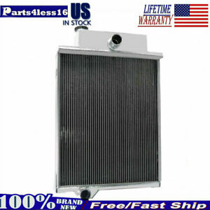 4 Row Aluminum Radiator Fit John Deere Tractor 4000 4020 Ar40832 49454 46434 Gas