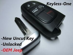 14 19 Jeep Cherokee Smart Key Keyless Entry Remote Oem Fob P 68141580af Uncut