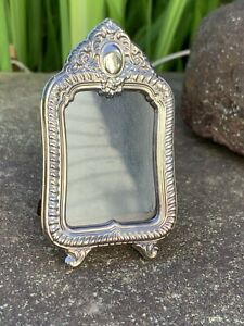 Sterling Silver Small Picture Frame