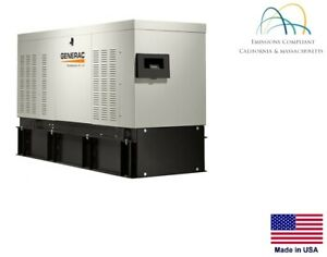 Standby Generator Commercial 30 Kw 120 240v 1 Phase Diesel