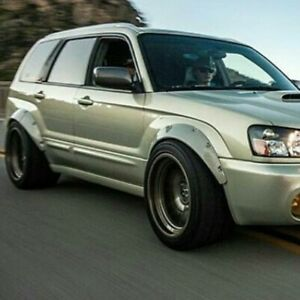 Fender Flares For Subaru Forester Sg Wide Body Kit Arch Extensions 3 5 4pcs