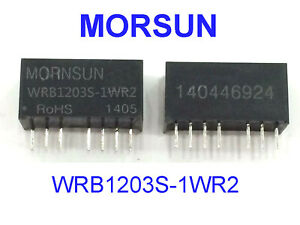 1 Pc Dc dc Converter Isolated Power Supply 12v To 3 3v Wrb1203s 1wr2