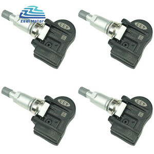 4pcs Tire Pressure Sensor For 2008 2012 Chrysler Town Country 56029527aa