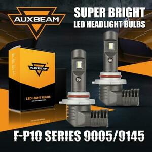 2x Auxbeam 9005 Hb3 Led Headlight Bulb High Beam Conversion Kit 6000k 7600lm 60w