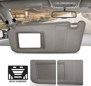 New Driver Side Gray Windshield Sun Visor With Sunroof For Camry 2007 2011