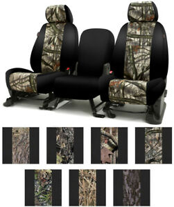 Coverking Mossy Oak Tailored Seat Covers For Chevrolet Colorado