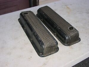 Ford Mustang Boss 302 351 Cal Custom 40 2700 Aluminum Valve Covers Cougar