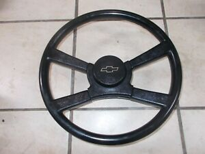 Chevy Truck 1500 2500 3500 Gmc Steering Wheel W horn Pad Button 1988 1994