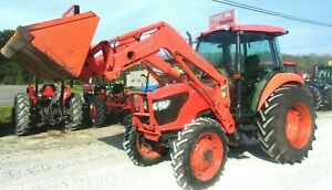 Kubota M7040 With Loader Hyd Shuttle 4x4 free 1000 Mile Delivery From Ky