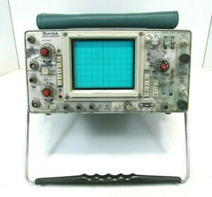 Tektronix 475a Two Channel 250mhz Oscilloscope As Is