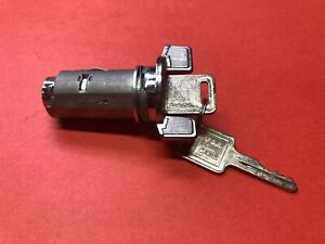 Gm Chevy Ignition Switch Lock Cylinder Chrome Bolt In 2 Keys New