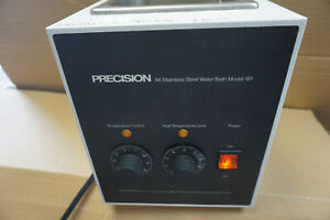 Precision 181 Water Bath Waterbath Variable Temperature All Stainless 115v Qdr