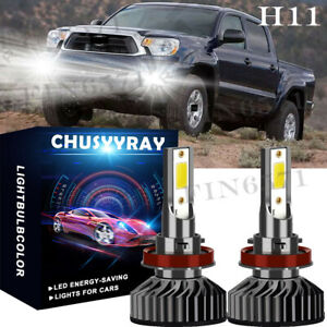 For Toyota Tacoma 2012 2013 2014 2015 2016 2017 2018 6000k Led Fog Light Bulbs