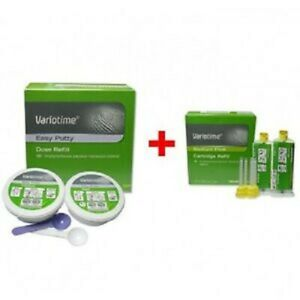 New Dental Variotime Addition Silicon Rubber Base Material From Heraeus Kulzer