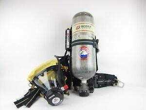 Scott Safety 2 2 Ap50 Air Pak 50 Unit W 30 804840 01 Carbon Fiber Cylinder