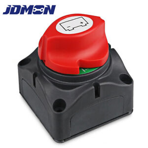 Dc8 60v Car Battery Disconnect Switch Cut shut Off Marine Battery Rotary Switch