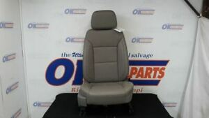 19 Gmc Sierra 1500 Slt Front Right Passenger Power Seat Gray Leather