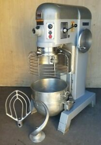 Clean Hobart P660 2 speed 60 Quart Pizza Dough Mixer With Bowl Guard 3ph 2 5 Hp