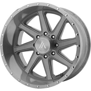 4 New 22x10 Asanti Off Road Windmill Titanium brushed Wheel rim 6x139 7 Et 20