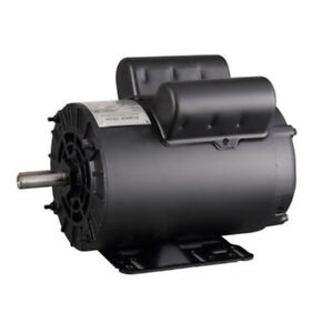5hp Spl 3450rpm Air Compressor Electric Motor 208 230v Single Phase One 1 Phase