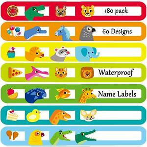 Youngever 180 Pack Baby Bottle Labels For Daycare Waterproof Self lamination