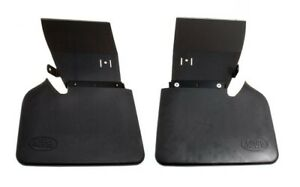 Land Rover Discovery 2 1999 2004 Genuine Rear Lh Rh Mudflaps Brackets Set