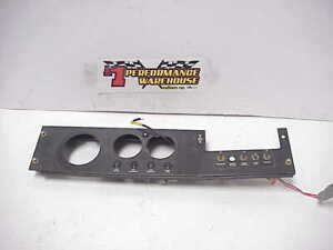 Nascar Race Car Dash Panel 4 Switches For Your 2 5 8 Gauges 5 Tachometer