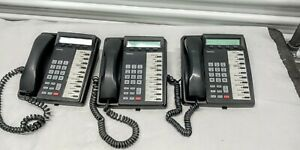 Lot Of 3 Toshiba Dkt3010 sd Digital Business Office Telephones