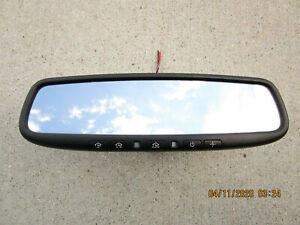 Kia Hyundai Rearview Rear View Mirror Auto Dim Home Link Map Light Temperature