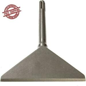 Scaling Chisel Scraper Machine Sharpened Tile Thinset Remover 6 In Steel Alloy