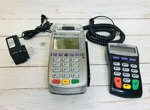 Verifone Vx 520 Credit Card Machine Ethernet Chip Reader And Pin Pad