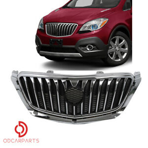 Fits 2013 2014 2015 2016 Buick Encore Front Upper Grille Chrome