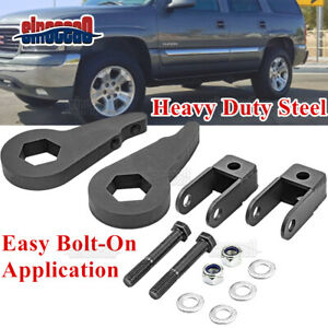 Front 3 Leveling Lift Kit Shock Extender For Chevy Silverado Gmc Sierra 2500