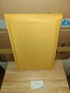 5 Bubble Gold Uline 10 5x16 Kraft Bubble Mailers Padded Envelopes lot Of 10