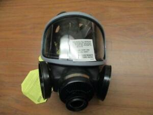 Msa Duo Twin Full Face Mask Respirator Package New Size Men s Sm Lg New