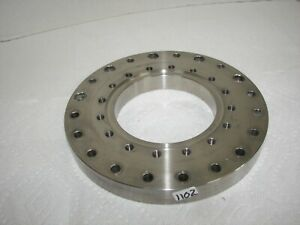 High Vacuum Research Chamber 8 Flange Reducer 6 Flange Used 4 Id