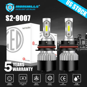 Super Bright Led Headlight Bulbs 9007 Hi Low Beam For Nissan Frontier 2001 2019