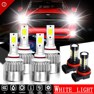 Led Xenon Conversion Kit Bulbs Hi lo Beam fog Light For Toyota Corolla 2009 2012