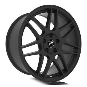 Forgestar F172 F14 Drag 17x9 5 6x115 37et Satin Blk Wheel